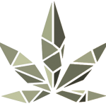 Sun Cannabis Logo Leaf